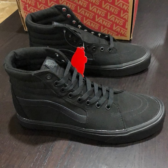 Vans Sk8 Hi Lite Canvas Black NWT